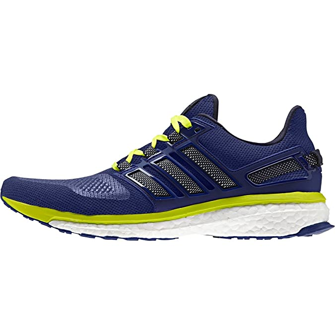 19c1228cdfa49 adidas Performance Men s Energy Boost 3 M Running Shoe Unity Ink White Solar  Yellow 8 D(M) US  Buy Online at Low Prices in India - Amazon.in