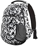 Ghostek NRGbag 2 Series Laptop Notebook Backpack With USB Charging Ports Business College Student Work Office Travel Back to School Book Bag Knapsack 16,000mAh 15.6-Inch (Camouflage)