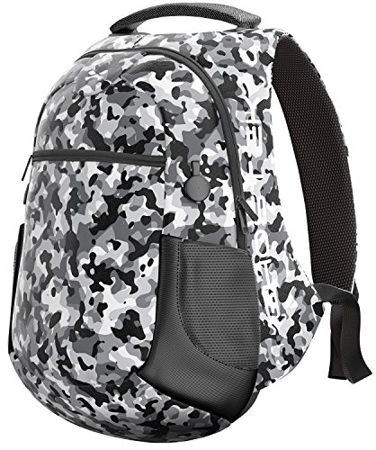 ies Laptop Notebook Backpack With USB Charging Ports Business College Student Work Office Travel Back to School Book Bag Knapsack 16,000mAh 15.6-Inch (Camouflage) ()