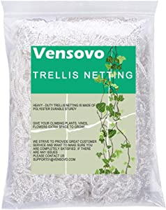 vensovo Garden Heavy Duty Trellis Netting - 5x30 Ft Polyester Trellis Net for Plants, Support Plants Grow Up