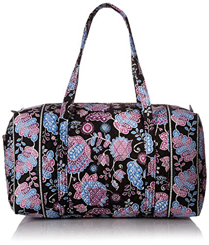 Women's Large Duffel, Signature Cotton, Alpine Floral by Vera Bradley