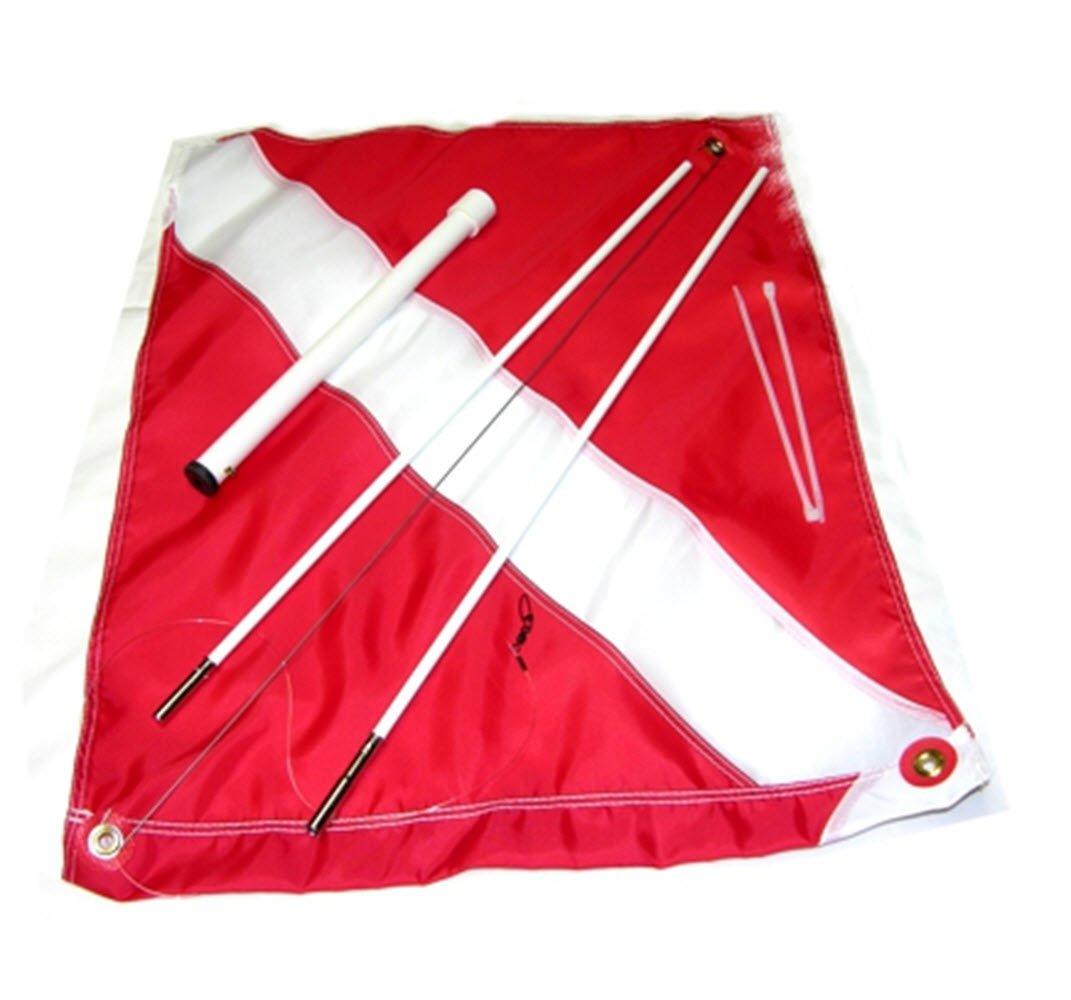 KayakフラグマウントDive Flag withデッキマウント   B01BQ2XN1I