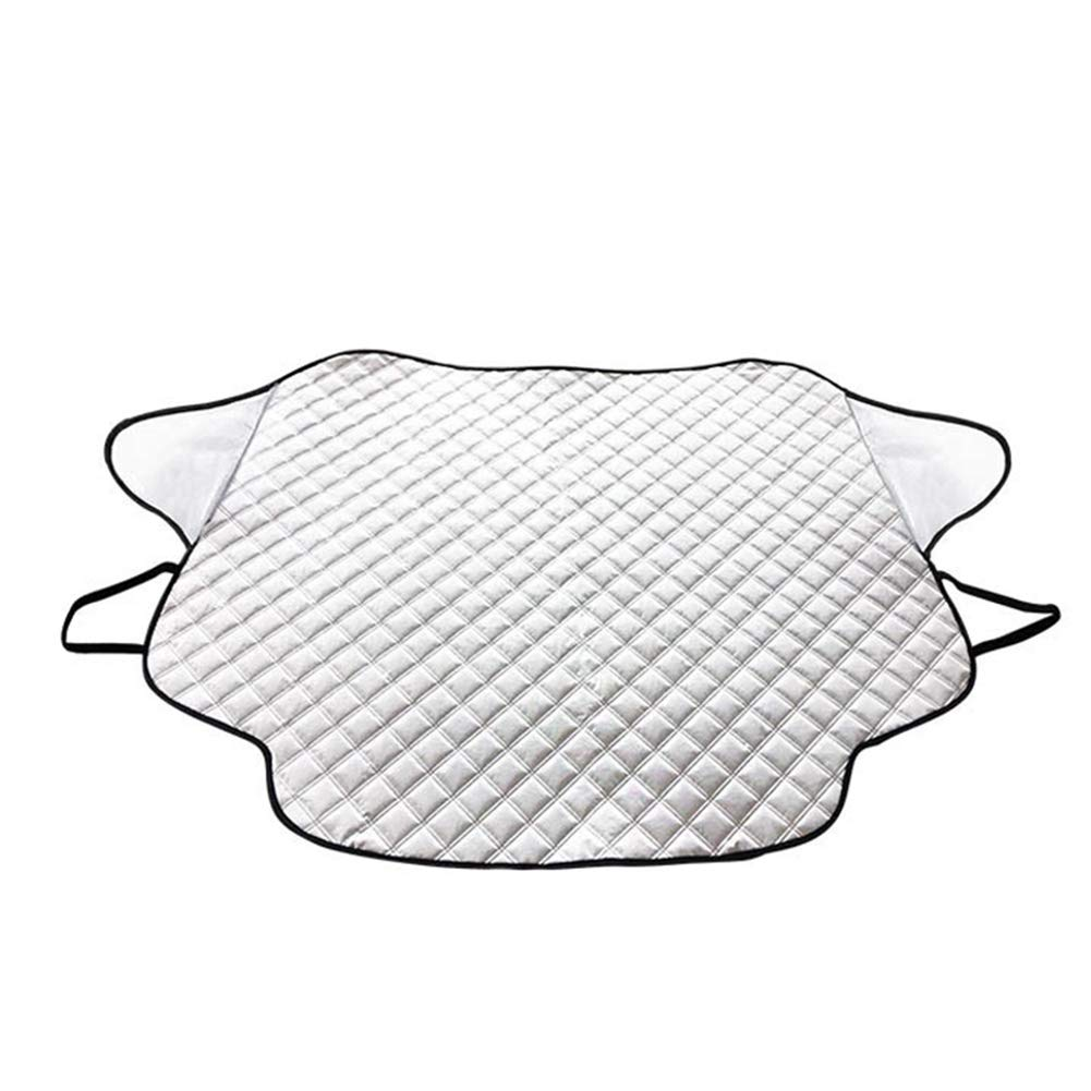 Beige Cubierta de Nieve Parabrisas de Coche Exterior para Coche Invierno Impermeable Wodeni Medium