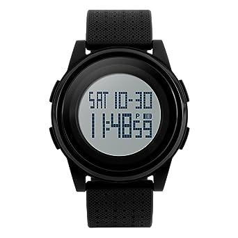 competitive price 842da 2b1c2 Amazon | メンズ腕時計, 防水 性格 大型ダイアル 電子時計, 男性 ...