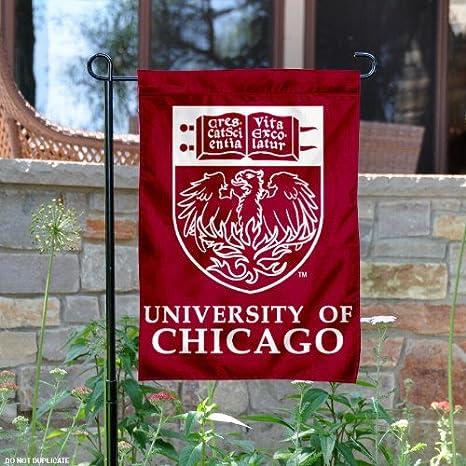 Amazon University Of Chicago Garden Flag And Yard Banner