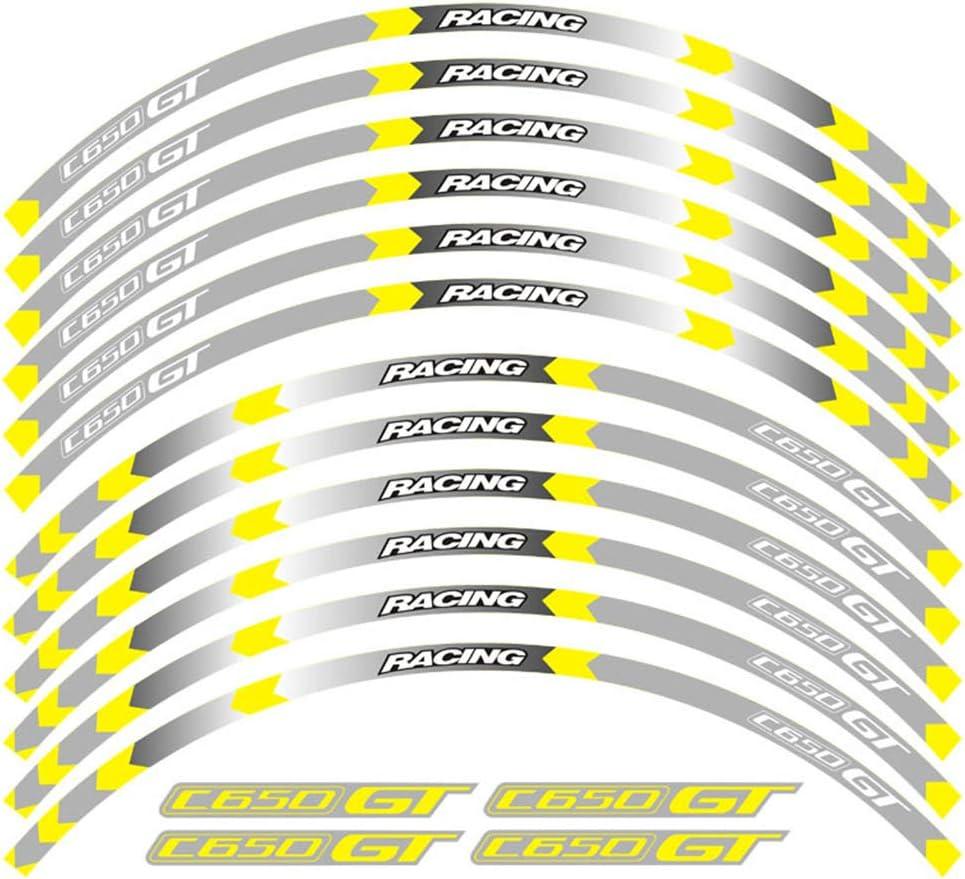 psler Motorrad Felgenrandaufkleber Rim Stripes Aufkleber F/ür G310GS