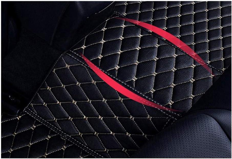 Maiqiken Tappetini Moquette Nera Antiscivolo per X5 E70 2008-2013 Auto Tappetino Tappeto,con Bordo Alto 3D