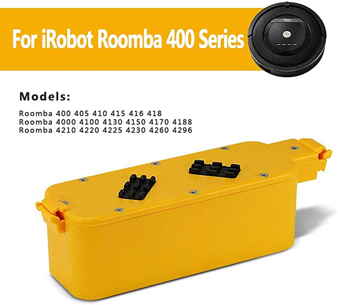 POWERGIANT 14.4V 3.3Ah NI-MH Batería para iRobot Roomba 400 405 ...