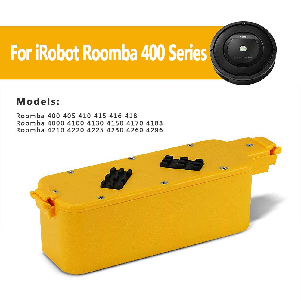 POWERGIANT 14.4V 3.3Ah NI-MH Batería para iRobot Roomba 400 405 410 400 415 416 418 4000 4100 4105 4110 4130 4150