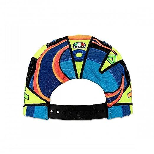 Amazon.com : Valentino Rossi VR46 Moto GP Replica Helmet Kids Cap Official New : Sports & Outdoors