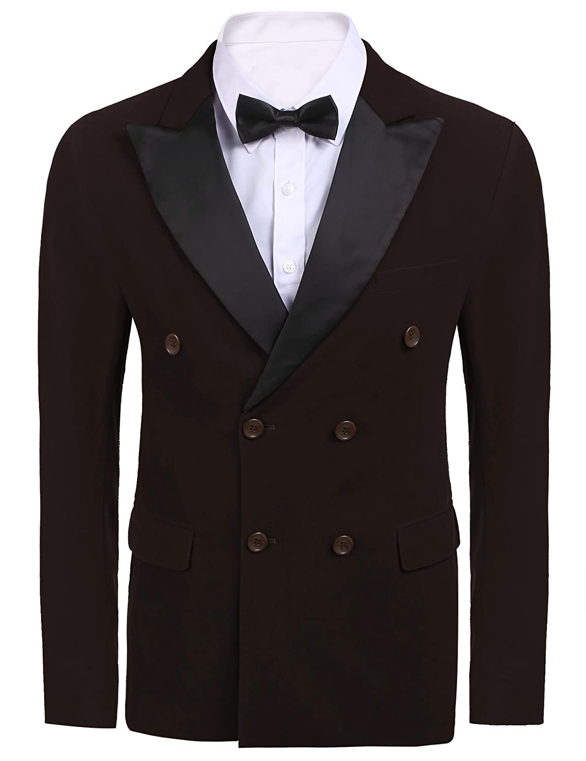 COOFANDY Men's Casual Dress Suit Slim Fit Blazer Coats Jackets