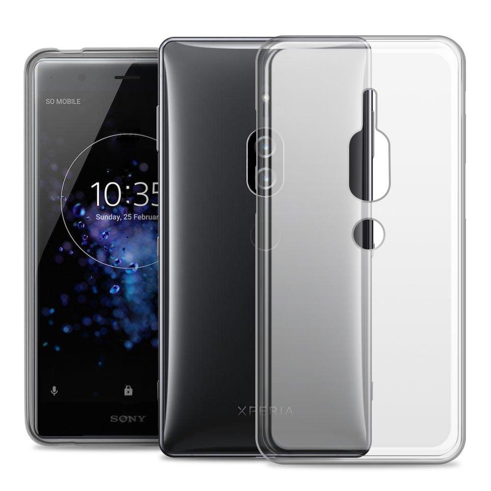 RIFFUE Funda Sony XZ2 Premium, Carcasa Transparente Silicona Ultra ...