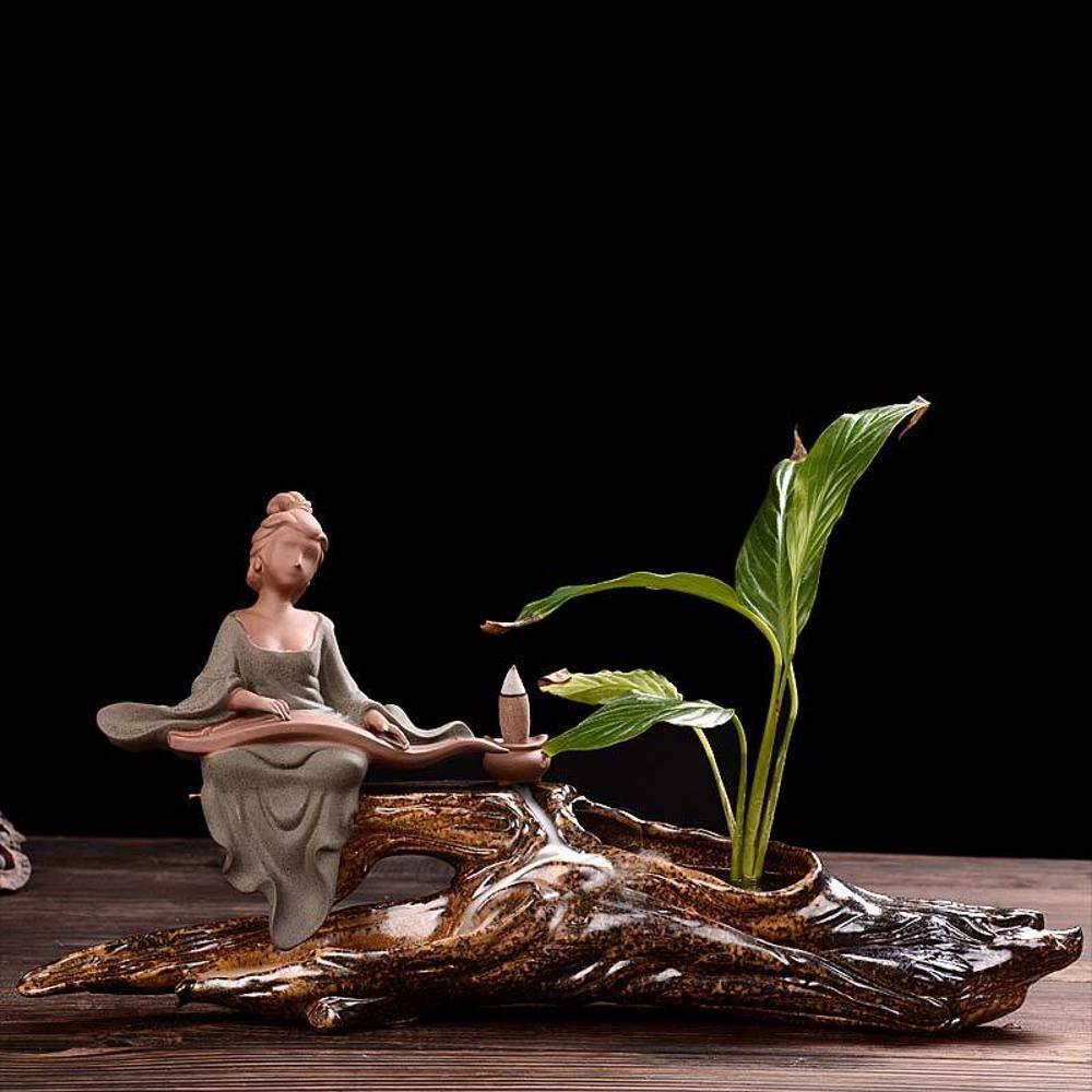 MAFYU Regali di festa Incienso quemador decoración incienso cerámica estufa incienso camino adornos: Amazon.es: Hogar