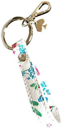 Kate Spade New York Keychain Key Fob WORU0249 Cream Multi