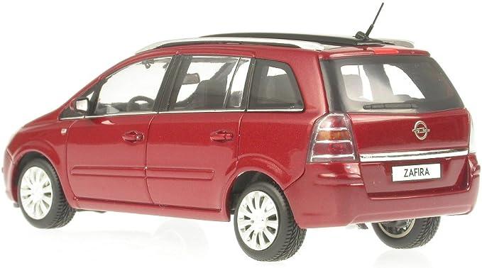 Opel Zafira Rotmetallic Model Car Minichamps 1 43 Spielzeug