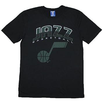 NBA Utah Jazz para hombre Athletic camiseta de manga corta T, hombre, negro: Amazon.es: Deportes y aire libre