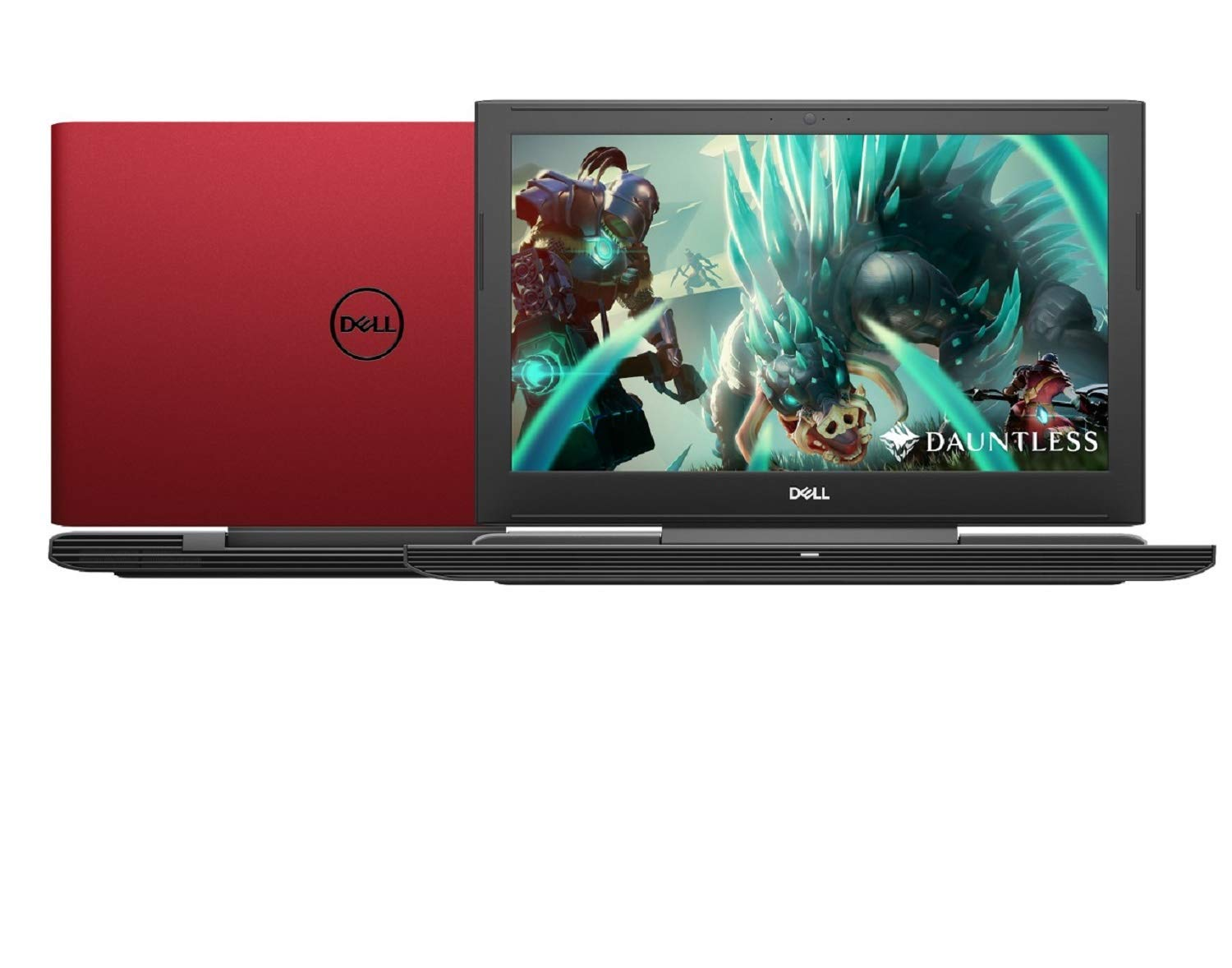 "Dell G5 15 Premium Gaming and Business Laptop (Intel 8th Gen i7-8750H Quad-Core, 16GB RAM, 2TB HDD + 1TB SSD, 15.6"" Full HD 1920 x 1080, GeForce GTX 1050 Ti 4GB, Win 10 Home) Red"