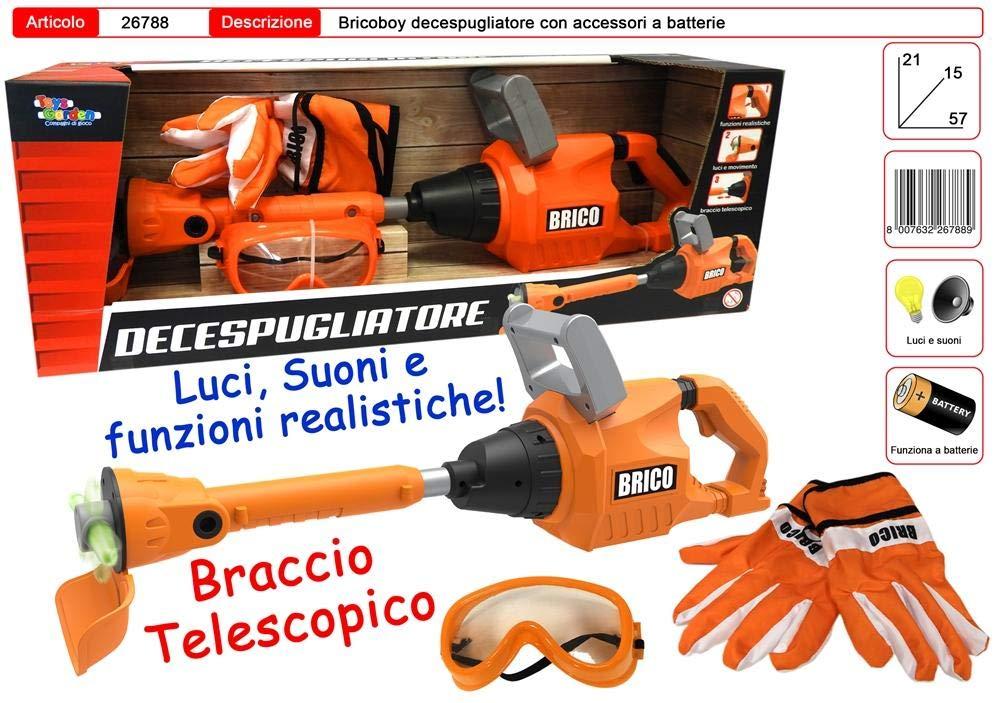 Toys Garden Desbrozadora Brico con Guantes y Gafas: Amazon ...