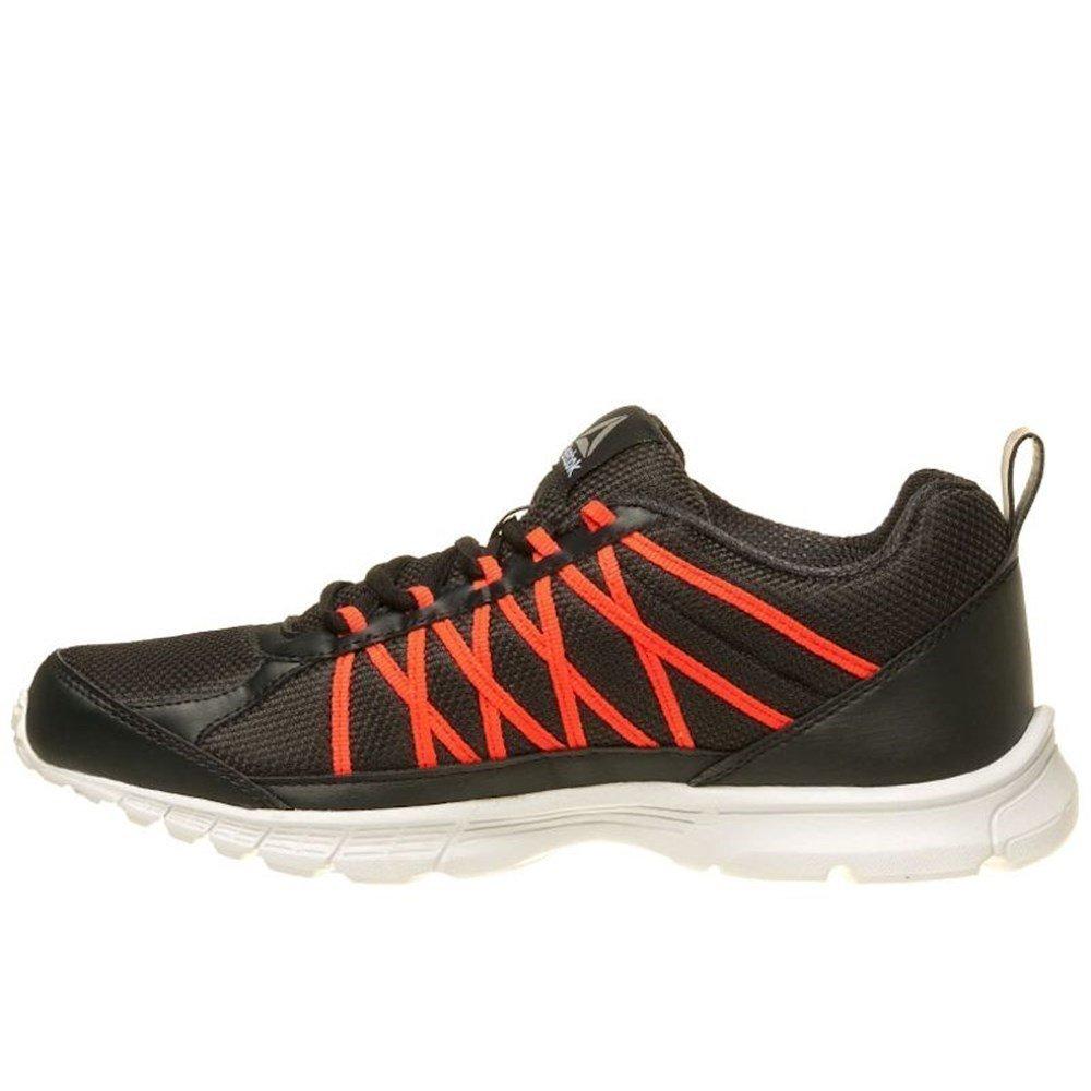 Reebok Speedlux 2.0, Zapatillas de Running para Hombre 41 EU|Negro (Coal / Red Glow / White / Silver)