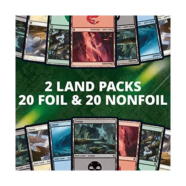 MTG Magic Zendikar Rising Bundle Box x 2 10 booster packs full art lands