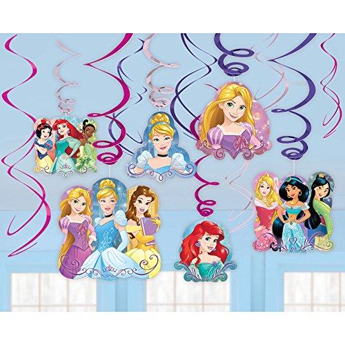©Disney Princess Dream Big Value Pack Swirl Decorations