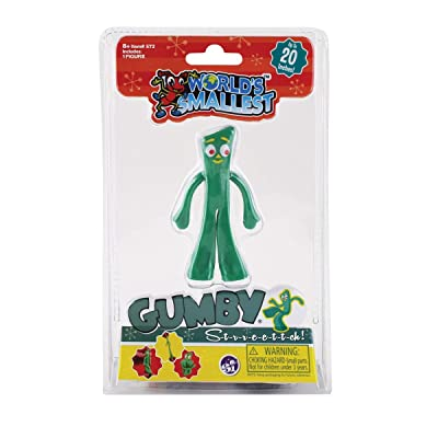 Worlds Smallest Stretch Gumby: Toys & Games