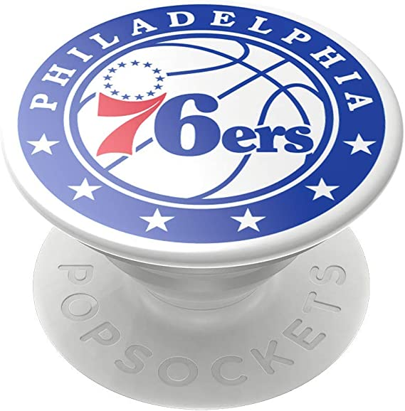 PopSockets New York Knicks PopGrip with Swappable Top for Phones /& Tablets NBA