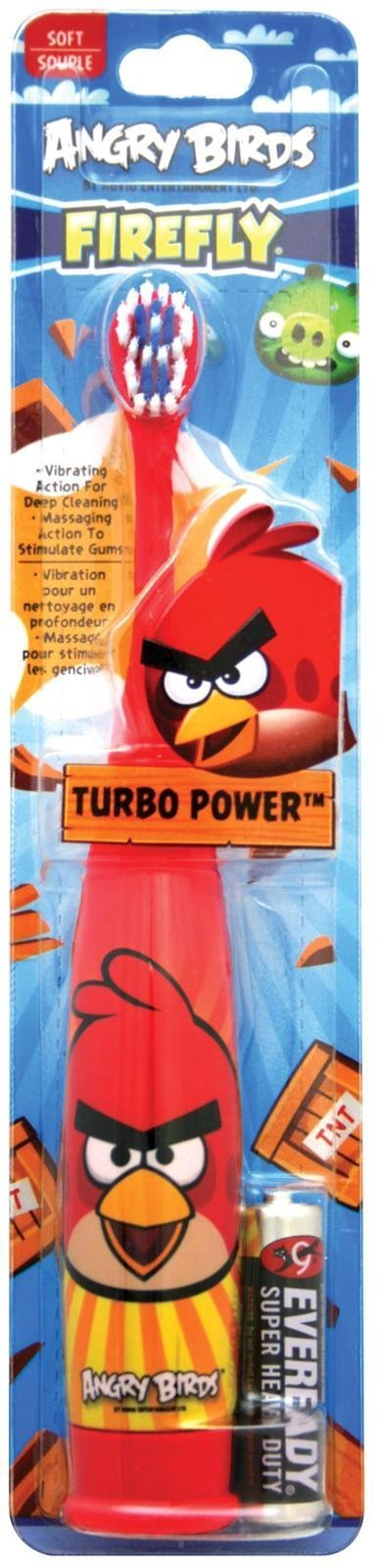 Firefly Power Toothbrush - Angry Birds