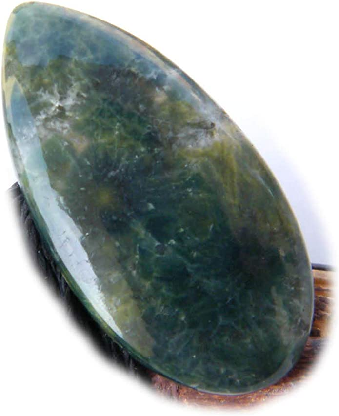 Natural Selenite Cabochon for jawellery 44.95cts....A1383 41x20mm