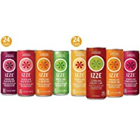 Deals on 48Ct IZZE Sparkling Juice 4 Flavor Variety + Sunset Variety Pack