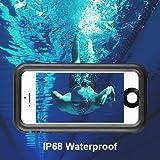 IPhone 5/5s/SE Waterproof Case, Moliwa Waterproof