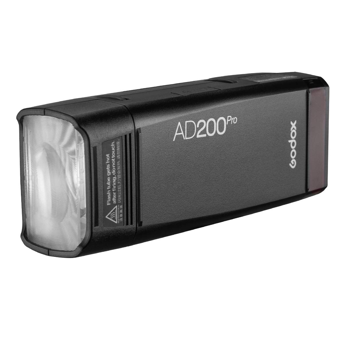 Godox AD200Pro 200ws 2.4G TTL Speedlite Flash Strobe 1/8000 HSS Monolight,500 Full Power Flashes, 2900mAh Battery,0.01-2.1s Recycling, Bare Bulb/Speedlite Fresnel Flash Head (AD200 Upgrade Version) by Godox (Image #2)