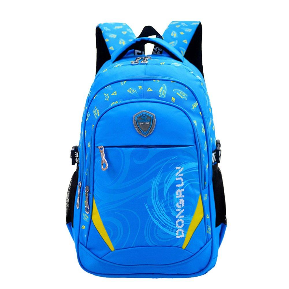 Think Bunny Schulrucksack Blau blau blau