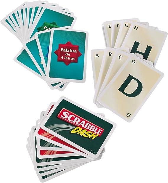 Juegos Mattel - Cartas Scrabble, Juego de Mesa (T8227): Amazon.es: Juguetes y juegos