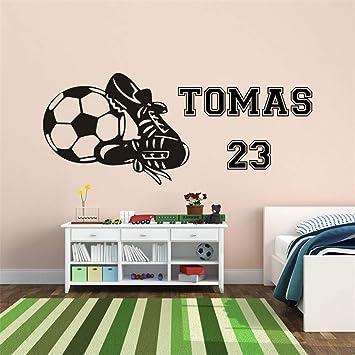 Wandaufkleber 3d Schlafzimmer Kunden Gemacht Junge Fussball