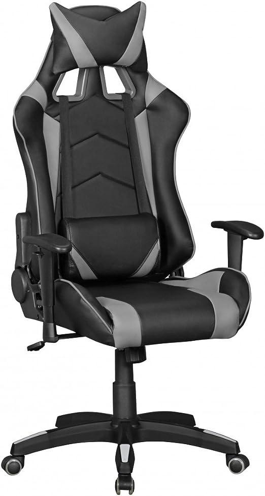 FineBuy Gaming Drehstuhl Büro Schreibtischstuhl Kunstleder Stuhl