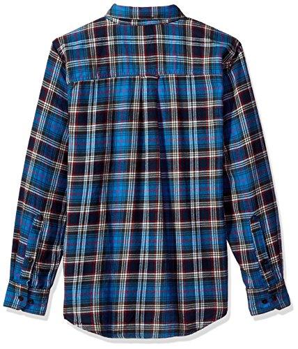 Da Flannel Maglia Shirt Woolrich Asphalt Trout Uomo Run Bottoni Con xwqZ6BPAd