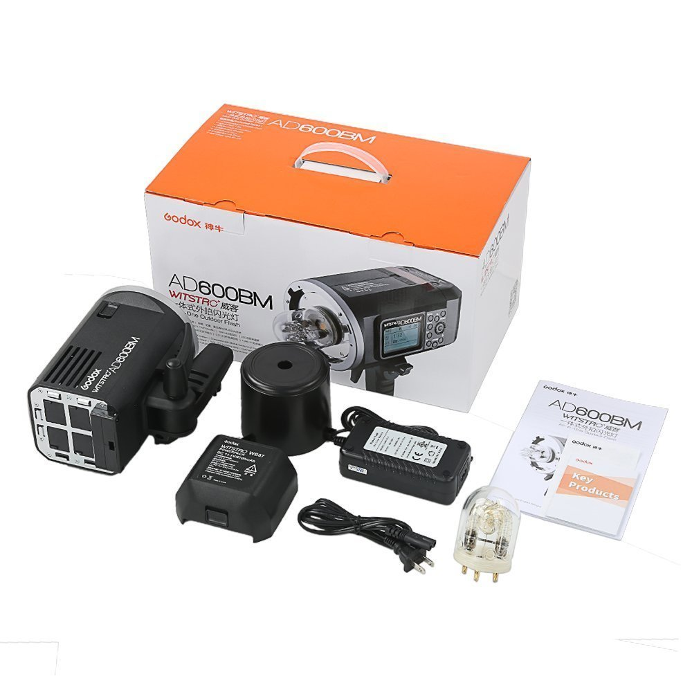 Godox AD600BM Bowens Mount 600Ws GN87 High Speed Sync Outdoor Flash Strobe Light with Xpro-C Transmitter Trigger for Canon Cameras by Godox (Image #5)