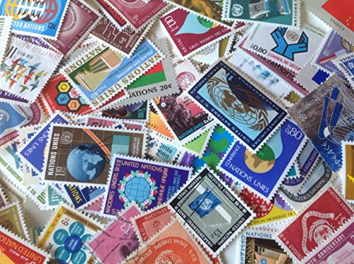 - United Nations 100 Different Postage Stamps