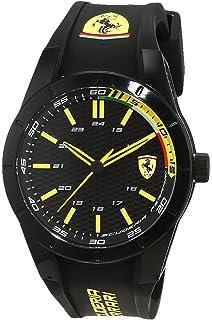 Scuderia Ferrari de Hombre Reloj de Pulsera Fecha clásico Cuarzo
