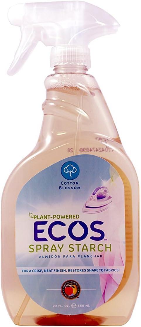 Earth Friendly Products All Natural Spray Starch Non-Aerosol Fabric Treatment, 22 fl oz