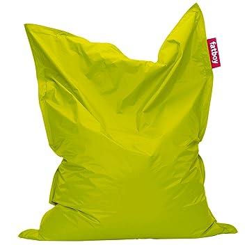 fatboy sitzsack lime green grijzemuren. Black Bedroom Furniture Sets. Home Design Ideas