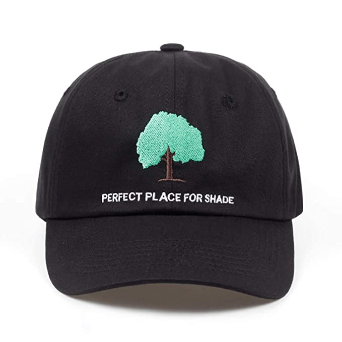 404cac81ded 2019 Adult Cap Embroidery Tree dad hat Casual Cap Hip hop Hats Women Men  Cotton Baseball Cap Black at Amazon Men s Clothing store
