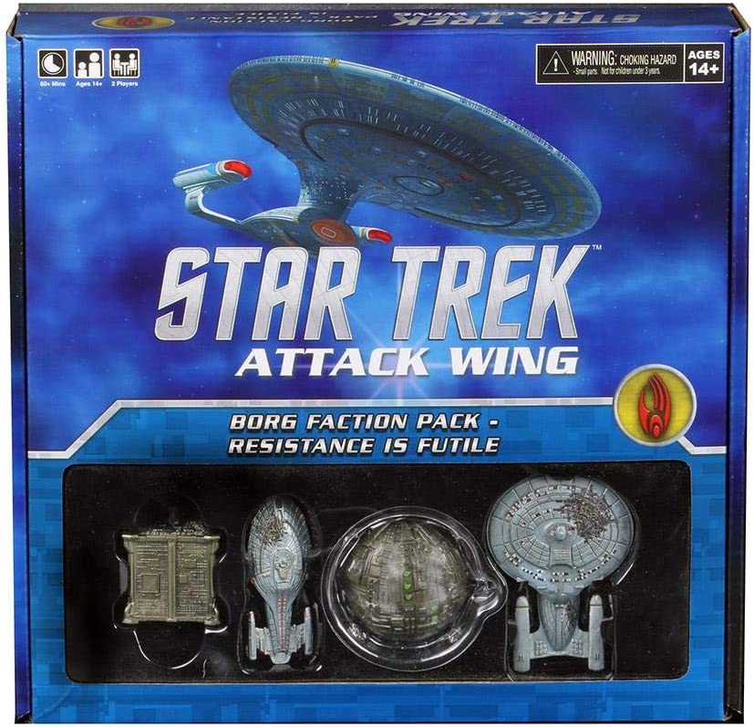 STAR TREK Attack Wing: Borg Faction Pack - Resistance is Futile: Amazon.es: Juguetes y juegos