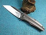Cheap Twosun Outdoor Tool Titanium Ball Bearings Fast Open Pocket Folding Knife TS50