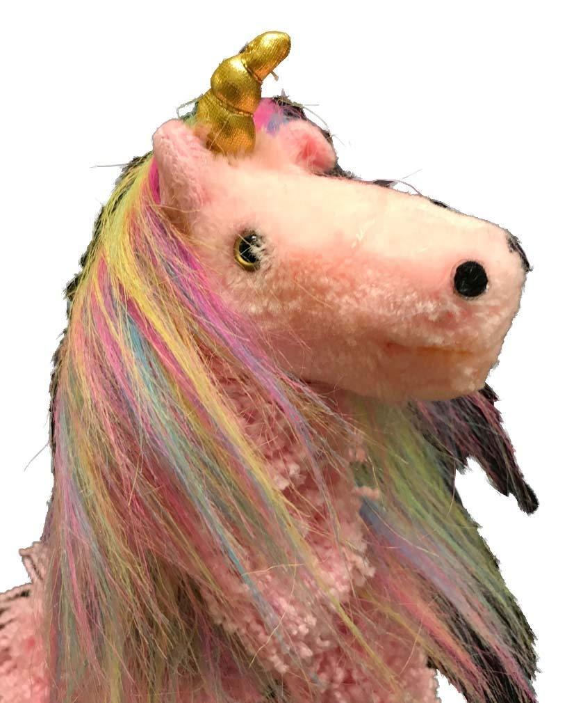 Pink Yarn Unicorn Marionette Puppet | MUN16-4 | STYLES VARY 4