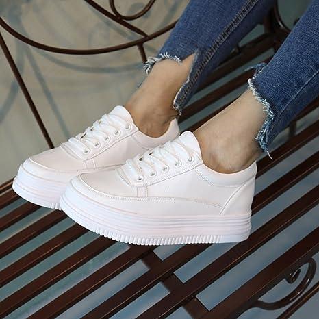BOTAS HAIZHEN Ladies Girls Botines Zapatillas de deporte de las mujeres Confort Primavera Otoño zapatos para