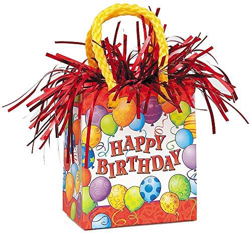 (Birthday Balloons Gift Bag Balloon Weight)