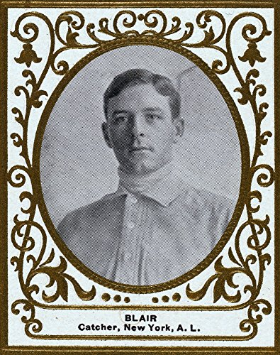 New York Highlanders - Walter Blair - Baseball Card (16x24 SIGNED Print Master Giclee Print w/Certificate of Authenticity - Wall Decor Travel Poster)