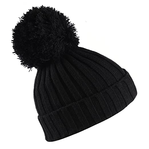 e360c9056e2 KELLY KLARK Pom Pom Hats for Women Warm Gift for Ladies Girls Chunky Cable  Knitted Ski
